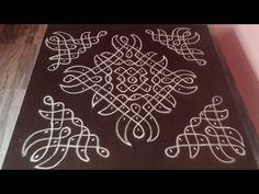 Free Hand Rangoli Design, Small Rangoli Design, Rangoli Designs With Dots, Rangoli Designs Images, Rangoli With Dots, Mehndi Images, Beautiful Rangoli Designs, Dot Rangoli, Rangoli Borders