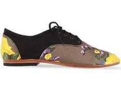 Springtime shoe.  Hand crafted.