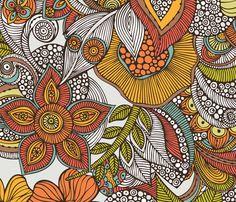 ava fabric by valentinaramos on Spoonflower - custom fabric