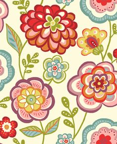 deco floral pattern - Google Search