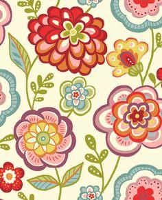 deco floral pattern - Google Search