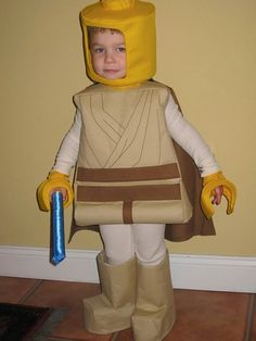 Halloween Lego costume