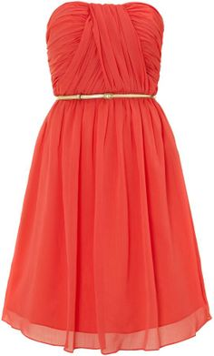 Untold Dress chiffon bandeau on shopstyle.co.uk
