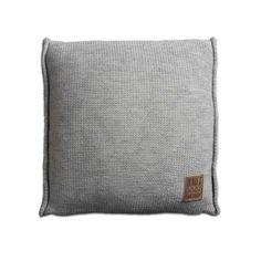 Poduszka 50x50 UNI by Knit Factory salon, sypialnia