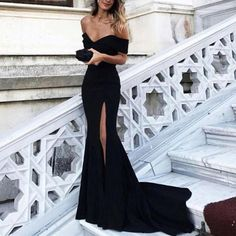 Siaoryne LP Sexy Evening dress Long Off the Shoulder Sexy Mermaid Prom Gowns