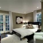 wall colors, color schemes, bedroom colors, white, paint colors, master bedrooms, platform beds, guest rooms, curtain