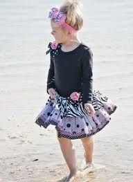 Little girl tutu dress