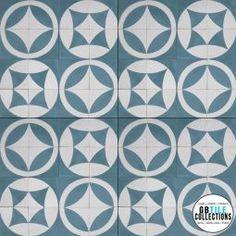 Encaustic Cement Tile - Geo 35-36