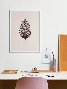 NATURE 1:1 PINE CONE BY FORM US WITH LOVE | PAPER COLLECTIVE - design posters