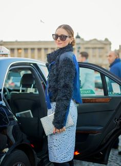 Olivia Palermo skirt outfit