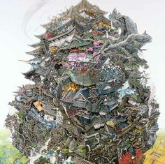 Exclusive Interview with Ikeda Manabu These pen-and-ink on paper paintings by Japanese artist Ikeda Manabu personify a complicated world. They are enormous, especially when considering the amount of...