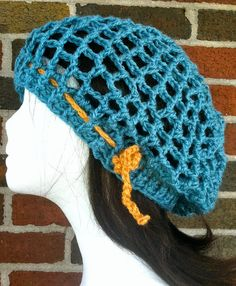 Crochet beret or snood in leaf green by crazyjaneknits on Etsy ... 4accae7e80d