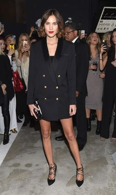 Wearing a blazer as a dress is officially a thing. Click for celebrity inspiration (like Alexa Chung, Rihanna, Kylie Jenner, Gigi and Bella Hadid, and Cara Delevingne), plus styles to buy now and tips for making the look work.