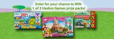 Enter for Your Chance to WIN a Hasbro Games Easter Prize Pack!‏