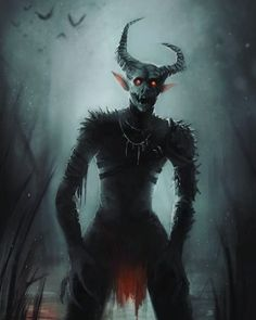 Fantasy Demon, Fantasy Monster, Dark Fantasy Art, Scary Characters, Star Wars Characters Pictures, Creepy Dude, Creepy Art, Monster Concept Art, Monster Art