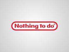 Contrapublicidad & Subvertising nintendo nothing to do