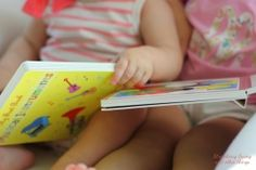 Like most babies and toddlers, A and K love reading. Well, more like being read to , but the girls both love books. Love Reading, Love Book, Book Series, Musicals, Vibrant Colors, Concept, Shapes, Musical Instruments, Books