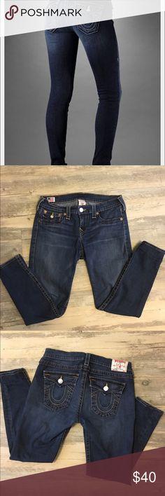 True religion Misty jeans Great dark wash skinny jeans True Religion Jeans