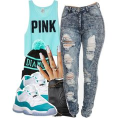 5|10|2k14, created by thebaddestbaddie on Polyvore