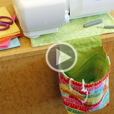 Learn to make a cute thread catcher!                                                                                                                                                                                 Plus