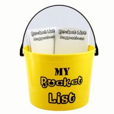 Bucket List Birthday Party Kit - 40th, 50th, 60th, 75th Birthday Party Decoration by Jubilee Celebrations by Wellhaven, http://www.amazon.com/...