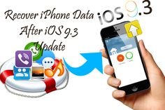 Lost iPhone data after updating your device with new iOS 9.3 update? Well there are more and more iPhone users are updating there device with iOS 9.3 update but besides its popularity, data loss disaster is also coming at the same time.