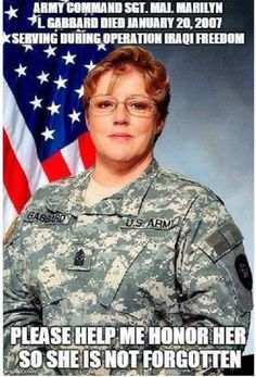 She is a Hero - on the 10th Anniversary of her Death - I honor her as a Personal Hero. - Iraqi Freedom!
