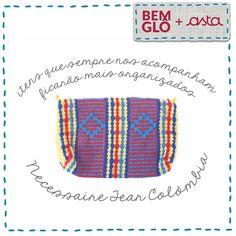 Estou pronta para ajudar você a manter seus itens básicos de higiene pessoal organizados, seja na bolsa, na gaveta do trabalho ou em suas viagens. Saiba mais sobre minha história na loja oficial da Gloria Pires! . #momentobemglo #asta #redeasta #produtos #necessaire #artesanato
