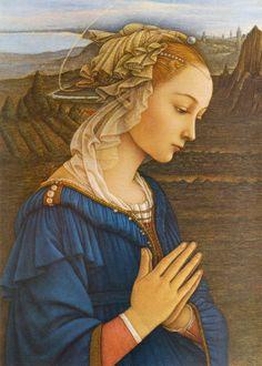 Filippo Lippi, Madonna di Maggio