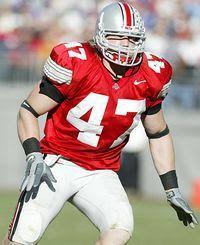 #47 A. J. Hawk #Ohio State Buckeyes