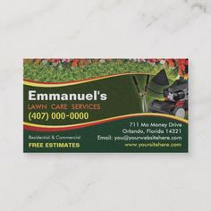 151 Best Landscaping Business Cards Images In 2019 Landscaping