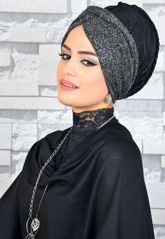 Turban Hijab, Bonnet Hijab, Head Wrap Headband, Diy Headband, Head Scarf Styles, Hair Styles, Scarf Head, Hairstyle Trends, Sewing Scarves