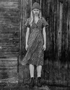 NYGÅRDS ANNA AUTUMN 2014 Fashion Wear, Fashion Outfits, Farm Women, Swedish Women, Liberty Print, Contemporary Photography, Country Style, My Style, Cotton Dresses