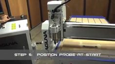 WinCNC Controller 2D and 3D Probe Scan.