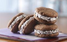 Sándwiches de Galleta de Cookies & Cream