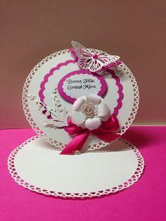 Carte ronde bonne fête grand mère : Cartes par une-image-pour-un-mot