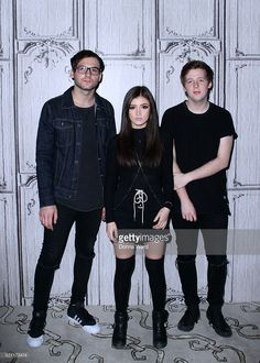 Will Ferri, Chrissy Costanza and Dan Gow of Against The Current appear to promote 'Young