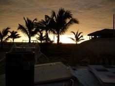View from sundown Inn, Canoa Ecuador