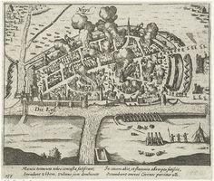 1586.Siege of Neuss.1613-15. Rijksmuseum.Anonymous.Siege by Alessandro Farnese