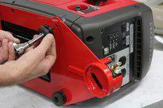 Installing the Generator Security Plate to the Honda Travel Trailer Floor Plans, Work Trailer, Travel Trailer Camping, Truck Camping, Travel Trailers, Generator Shed, Camping Generator, Honda Generator, Power Generator
