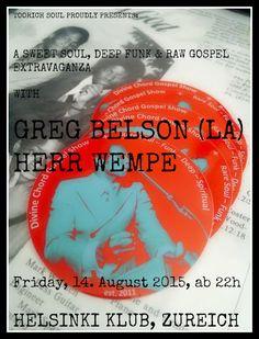 Herr Wempe a/k/a DJ Soulsonic: Greg Belson (Divine Chord Gospel Show) & yours tru...