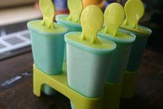 Filléres jégkrémformák, de ha nincs, bármilyen kis műanyag pohár megteszi