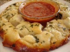 Cheesy Garlic Pull Aparts Recipe - uses canned biscuits