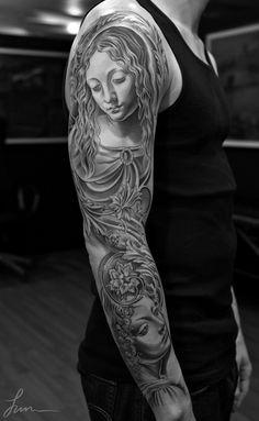 Jun Cha #tattoo