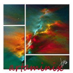abstract squarcio di colore