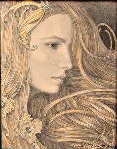 Fantasy Images, Art Images, Fantasy Art, Spirited Art, Fairytale Art, Portrait Art, Portraits, Old Art, Whimsical Art