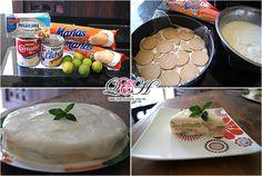 Pay de limón frio / Comida casera, fácil de preparar.