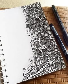 ideas Intricate Doodles and Zentangle Drawings Zentangle drawings Doodle Art doodle art Doodles Drawings Ideas Intricate Zentangle Doodle Art Designs, Doodle Art Drawing, Zentangle Drawings, Mandala Drawing, Doodle Patterns, Doodles Zentangles, Art Drawings Sketches, Zentangle Patterns, Easy Drawings