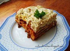 Čočkové lasagne s tofu od Andie Chambers. Tofu, Ham, Smoothies, Food And Drink, Ethnic Recipes, Dinner Ideas, Fitness, Lasagna, Smoothie