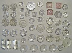 vintage button collection  by Daniel & Katie, via Flickr